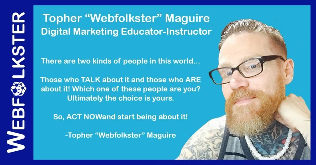 About Webfolkster